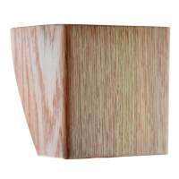 """Wood Restaurant Booth Legs CA4-A 4"""" ONLY 4""""x4"""""""
