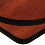 Black Vinyl T-Mold Edge