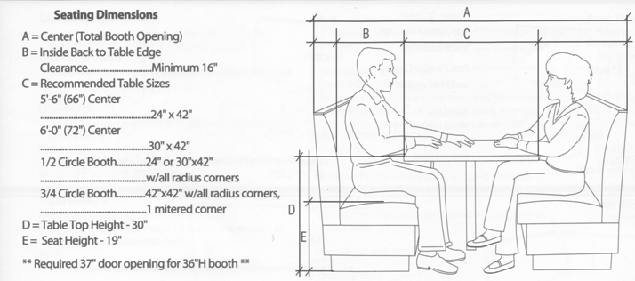 Restaurant Booth Plans Sims Seating Commercial